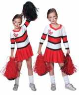 Cheerleader jurkjes rood wit