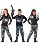 Politie swat verkleed outfit feest outfit kinderen